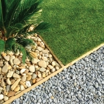 Different ways to use decorative aggregates